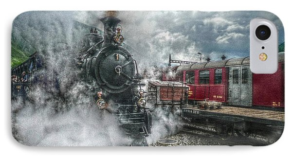 IPhone Case featuring the photograph Steam Train by Hanny Heim