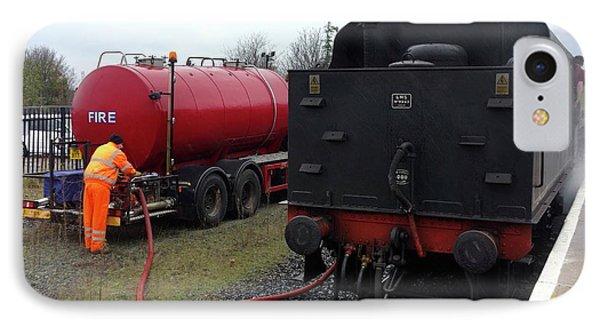 Steam Train Water Refill IPhone Case