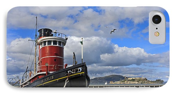 IPhone Case featuring the photograph Steam Tug Hercules by Kate Brown