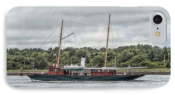 Steam Yacht Cangarda IPhone Case by Constantine Gregory