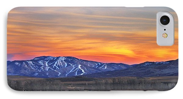 Steamboat Alpenglow IPhone Case