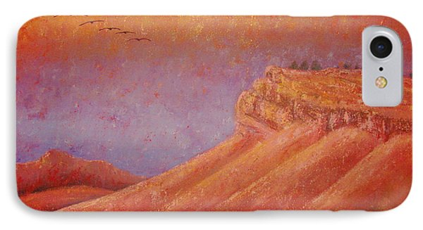 Steamboat Mountain At Sunrise IPhone Case by Margaret Bobb