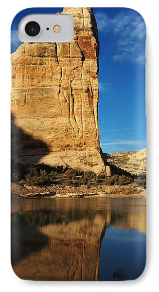 Steamboat Rock In Dinosaur National Monument IPhone Case