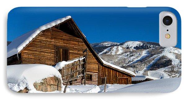 Steamboat Springs Colorado Phone Case by Teri Virbickis