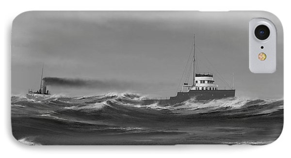 Steamer James Carruthers IPhone Case by Captain Bud Robinson