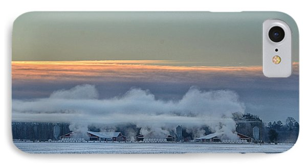 Steaming Houses IPhone Case by Tamera James