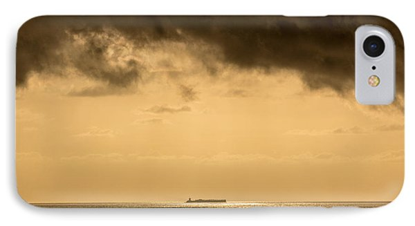 Steaming Thru The Sunrise Phone Case by Rene Triay Photography