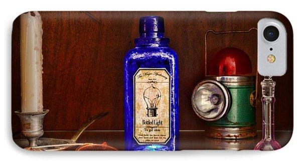 Steampunk Bottled Light Phone Case by Paul Ward