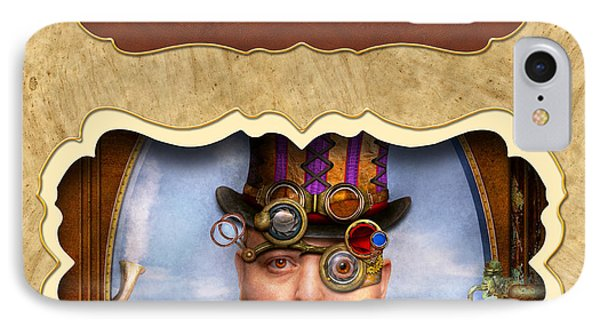 Steampunk Button Phone Case by Mike Savad