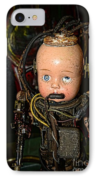 Steampunk - Cyborg Phone Case by Paul Ward
