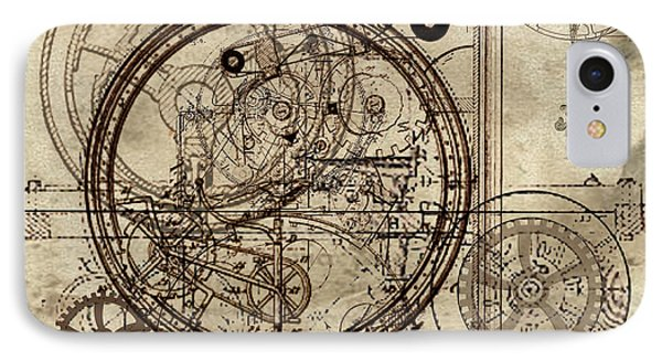 Steampunk Dream Series IIi IPhone Case by James Christopher Hill