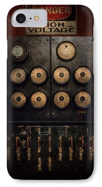 Steampunk - Electrical - Center Of Power Phone Case by Mike Savad