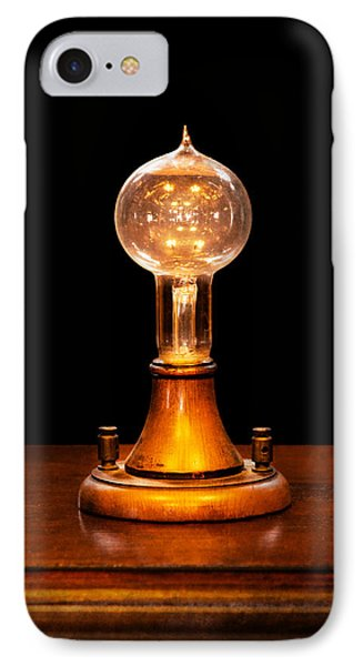 Steampunk - Electricity - Bright Ideas  Phone Case by Mike Savad