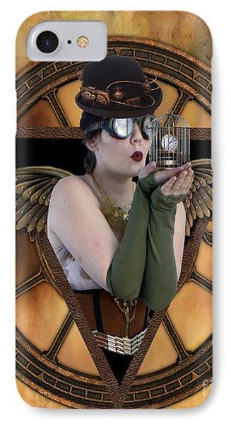 Steampunk Fairy IPhone Case by Juli Scalzi