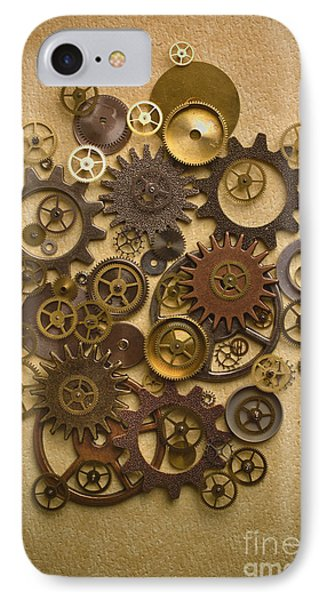 Steampunk Gears Phone Case by Diane Diederich