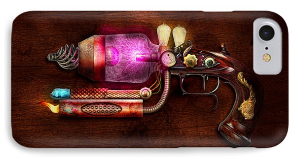 Steampunk - Gun -the Neuralizer Phone Case by Mike Savad