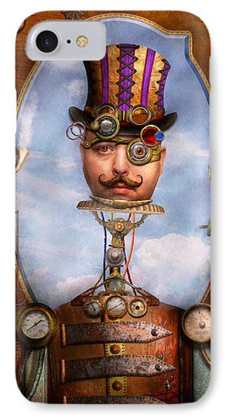 Steampunk - Integrated Phone Case by Mike Savad