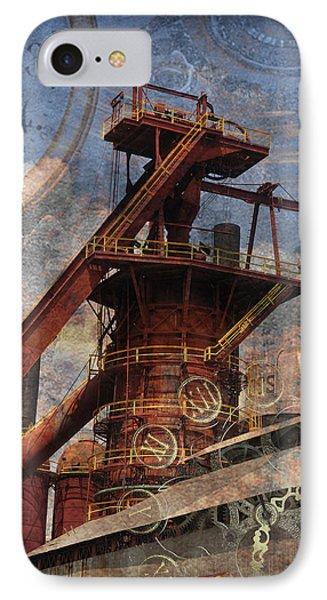 Steampunk Iron Mill IPhone Case