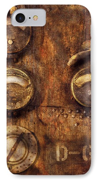 Steampunk - Meters D-66 Phone Case by Mike Savad