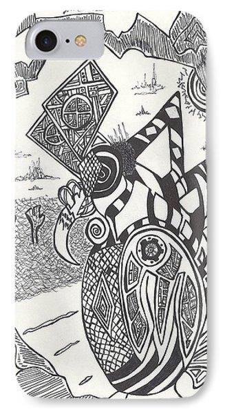 Steampunk Owl IPhone Case by Alexis Escobar