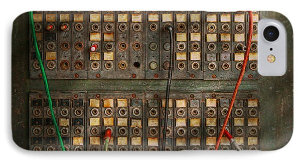 Steampunk - Phones - The Old Switch Board Phone Case by Mike Savad