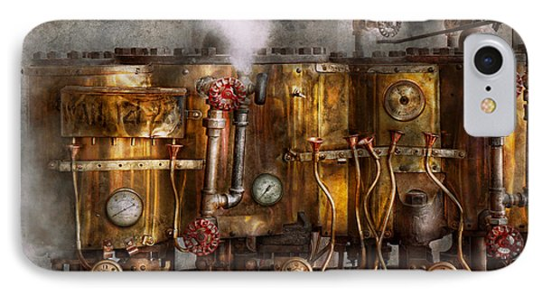 Steampunk - Plumbing - Distilation Apparatus  Phone Case by Mike Savad