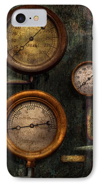Steampunk - Plumbing - Gauging Success IPhone Case