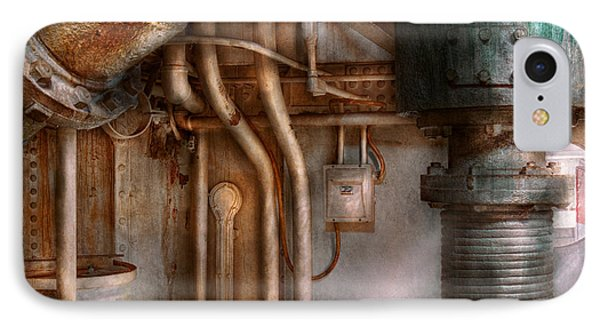 Steampunk - Plumbing - Industrial Abstract  Phone Case by Mike Savad