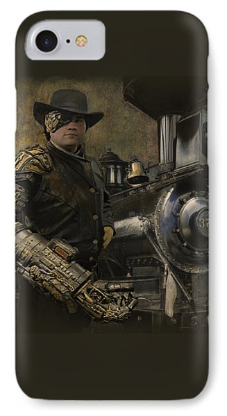 Steampunk - The Man 1 IPhone Case