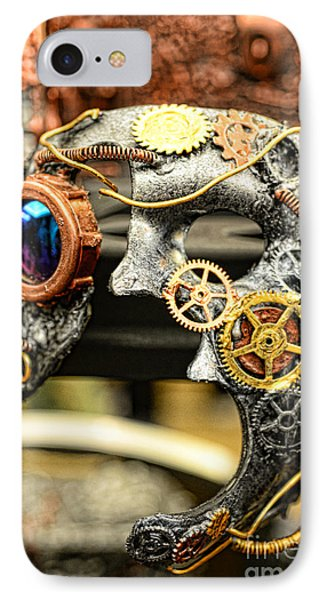 Steampunk - The Mask Phone Case by Paul Ward
