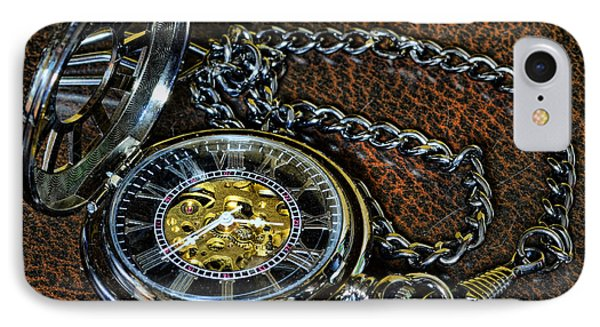Steampunk - The Pocketwatch Phone Case by Paul Ward