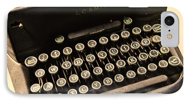 Steampunk - Typewriter - The Age Of Industry Phone Case by Paul Ward