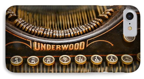 Steampunk - Typewriter - Underwood Phone Case by Paul Ward