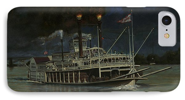 Kate Adams Steamboat Night IPhone Case