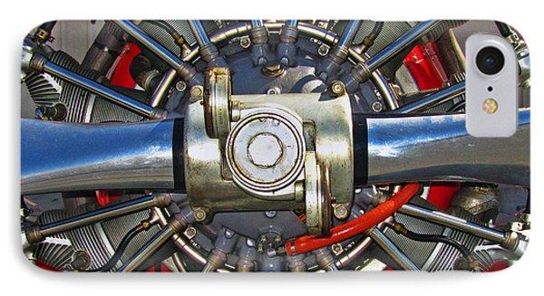 Stearman Engine Phone Case by Dale Jackson
