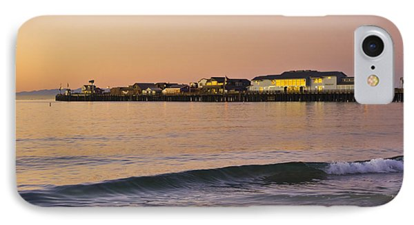 Stearns Wharf At Dawn IPhone Case by Priya Ghose