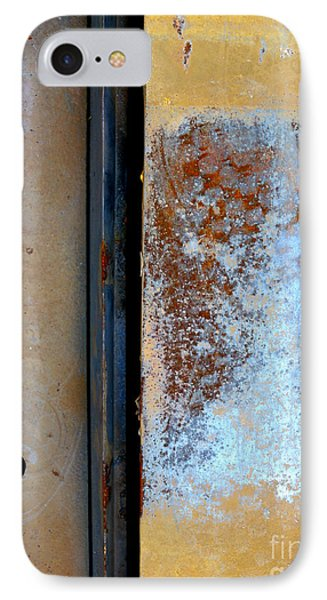 IPhone Case featuring the photograph Steel Abstract by Robert Riordan