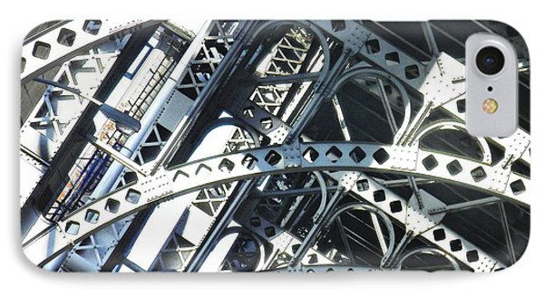 Steel Arches IPhone Case by Sarah Loft