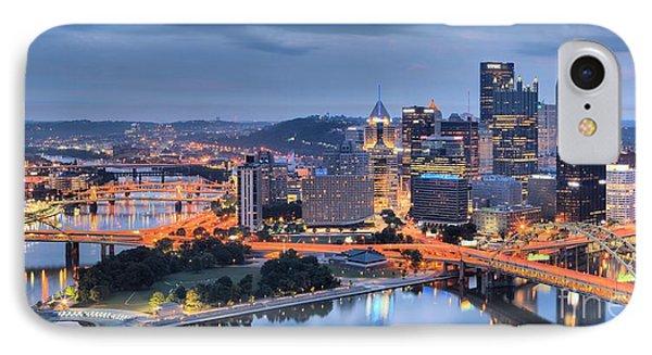 Steel City Panorama IPhone Case