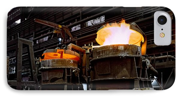 Steel Industry In Smederevo. Serbia IPhone Case