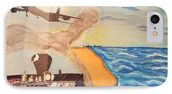 Steel Of The Dunes IPhone Case by Robert Pikula