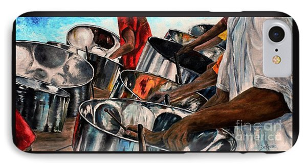 Steelband Music Sweet IPhone Case by Anna-maria Dickinson