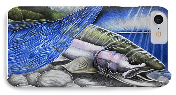 Steelhead Dreams IPhone Case by Nick Laferriere
