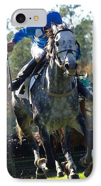 IPhone Case featuring the photograph Steeplechase by Robert L Jackson