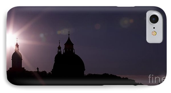 Steeples At Sunset IPhone Case