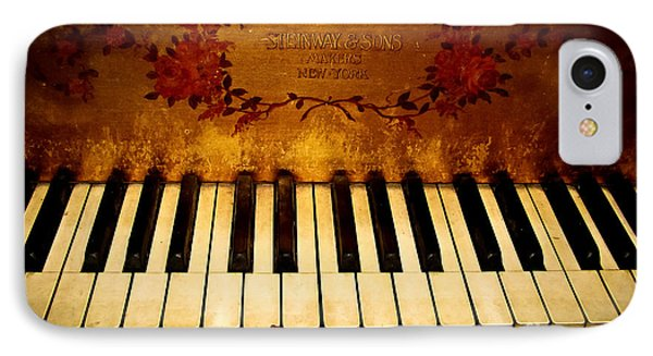 Steinway Golden Grand  Phone Case by Colleen Kammerer