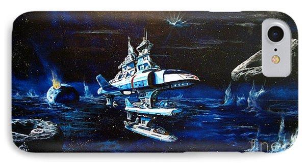 Stellar Cruiser IPhone Case by Murphy Elliott