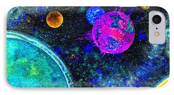 Stellar Flares IPhone Case by Bill Holkham