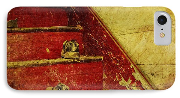IPhone Case featuring the photograph Step Back In Time by Debra Fedchin