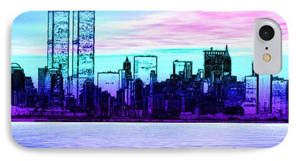 Step Back In Time Manhattan IPhone Case